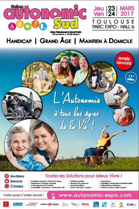 Association csc salon autonomic toulouse 31 les 23 for Salon autonomic 2017